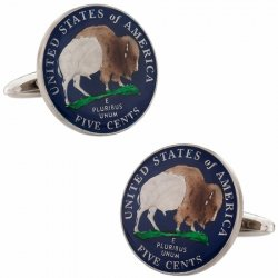 Coin and Token Cufflinks