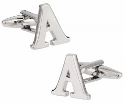 Initial and Number Cufflinks
