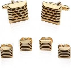 14kt Goldplated Formal Set