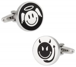 Angel and Devil Cufflinks