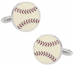 Baseball Ball Cufflinks