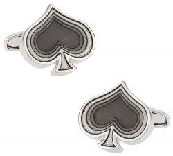Black Spade Cufflinks