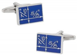Blueprint Cufflinks for Architect