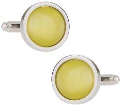 Bold Yellow Cufflinks