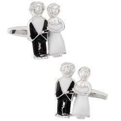 Bride & Groom Cufflinks