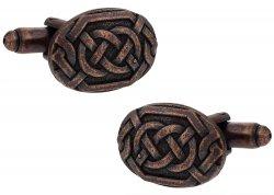 Bronze Celtic Knot Cufflinks
