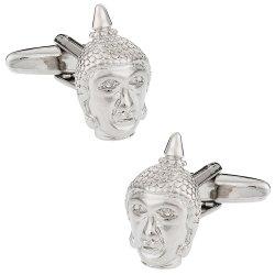 Buddha Head Buddhist Cufflinks