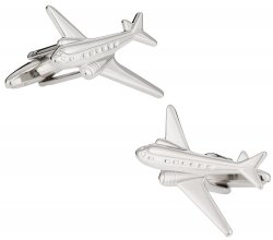 Commercial Airline Cufflinks