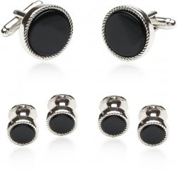 Conservative Formal Set of Cufflink Studs