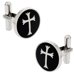 Christian Gift Idea - Cool Cross Cufflinks