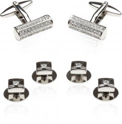 Men's Crystal Bar Formal Set