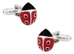 Cute Ladybug Cufflinks