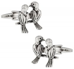 Cute Love Birds Cufflinks