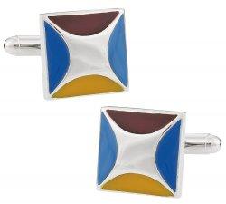 Designer Enamel Cufflinks