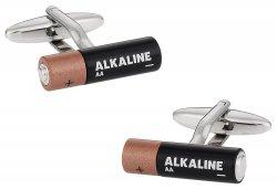 Battery Cufflinks