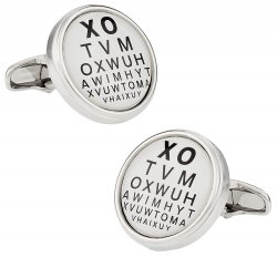 Optometrist Cufflinks