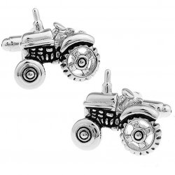 Tractor Cufflinks for Farmers Gardeners