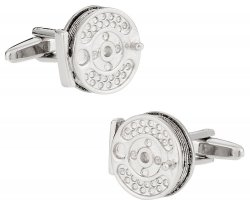 Fly Fishing Reel Cufflinks