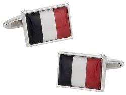 France Flag Cufflinks
