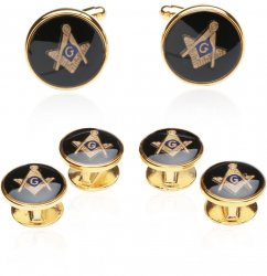 Masonic Gift Idea - Freemason Cufflinks & Studs