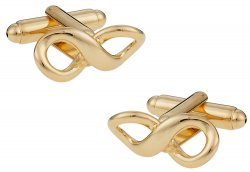 Gold Infinity Cufflinks