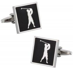 Golf Pro Golfer Cufflinks