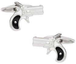 Gun Cufflinks