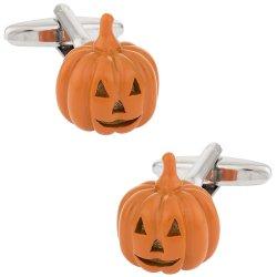 Jack O Lantern Pumpkin Halloween Cufflinks