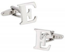 Letter E Cufflinks
