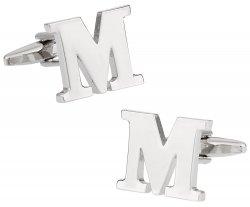 Letter M Cufflinks