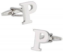 Letter P Cufflinks