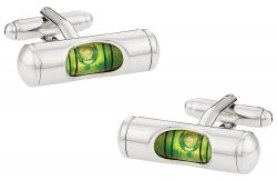 Liquid Level Carpenter Cufflinks