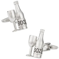 Liquor Cufflinks for your Drunk Friend