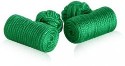 Log Style Knot Cuff Links