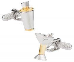 Martini Shaker Cufflinks