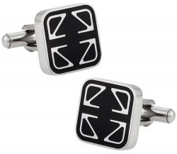 Mens Stainless Cufflinks