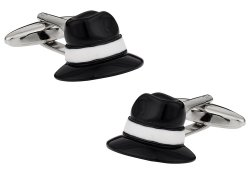 Fedora Hat Cufflinks