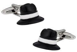 Fedora Hat Cufflinks