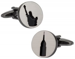 New York Silhouette Cufflinks