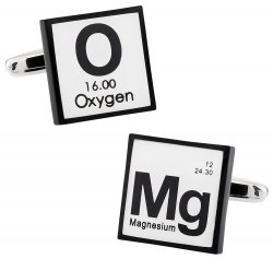 OMG Periodic Table Cufflinks