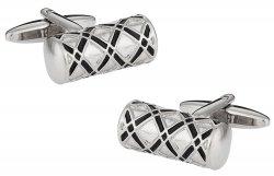 Ornate Silver Cufflinks
