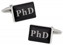 PhD Cufflinks