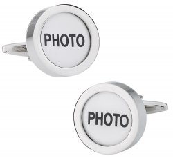 Photo Picture Cufflinks - Great Gift Idea for Dad