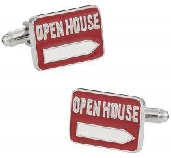 Realtor Open House Cufflinks