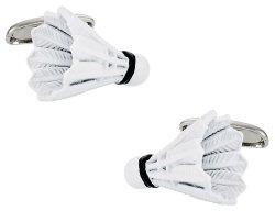 Shuttlecock Badminton Cufflinks