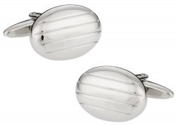 Silver Pillow Cufflinks