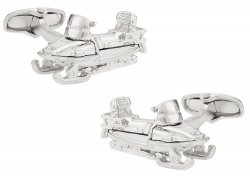 Snowmobile Cufflinks