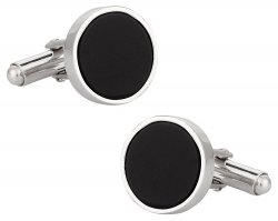 Onyx Sterling Silver Cufflinks