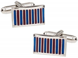 Thin Stripe Cufflinks