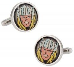 Thor Silver-Tone Cufflinks